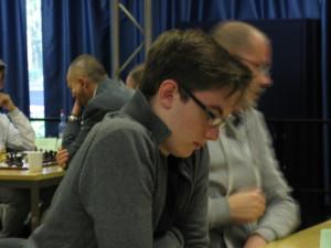Lukas Schimnatkowski zu Beginn der 3. Runde