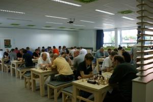 Blick in den Turniersaal (Foto: Jürgen Cziczkus)