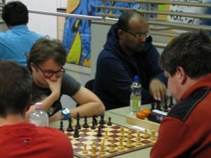 Auch mit dabei: OSV-Talent Lennart Faber (links)