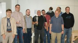 Das Siegerteam aus Oberhausen (Foto: Jürgen Cziczkus)